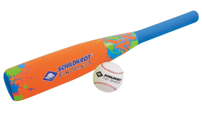Schildkroet Funsports 970224 Set de Béisbol, Unisex niños, Naranja, Talla Única schildkroet-funsports_970224