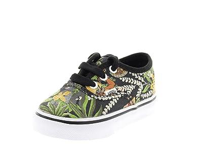 b7d615631e53 Vans Disney Infant Black The Jungle Book Authentic Trainers  Amazon.co.uk   Shoes   Bags
