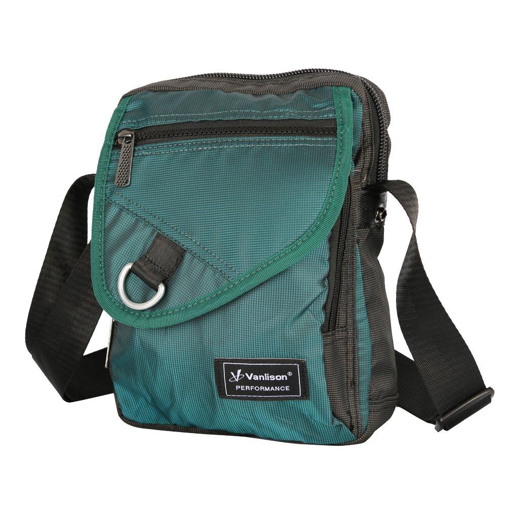 Vanlison Crossbody Small Shoulder Bag Messenger Sling Pack Satchel for iPad Kindle