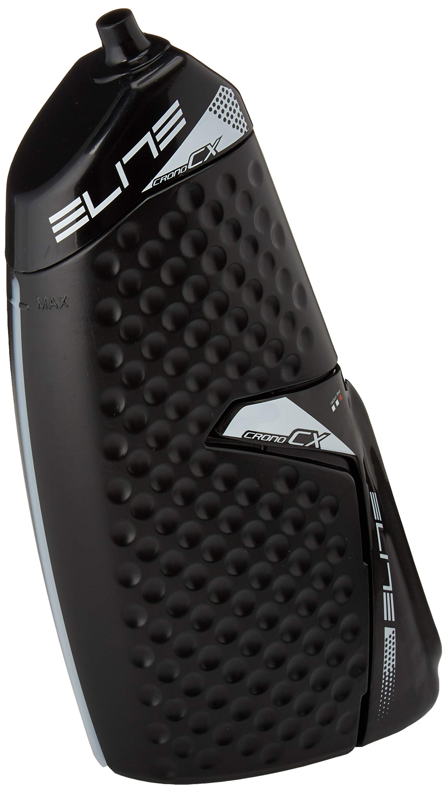 Elite 0123002 Crono CX Aero Water Bottle, Black