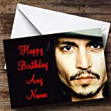 Arnold schwarzenegger personalised birthday card amazon personalised johnny depp birthday card bookmarktalkfo Image collections