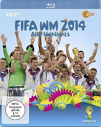 Fifa Wm 2014 Alle Highlights Blu Ray Amazon De Peer
