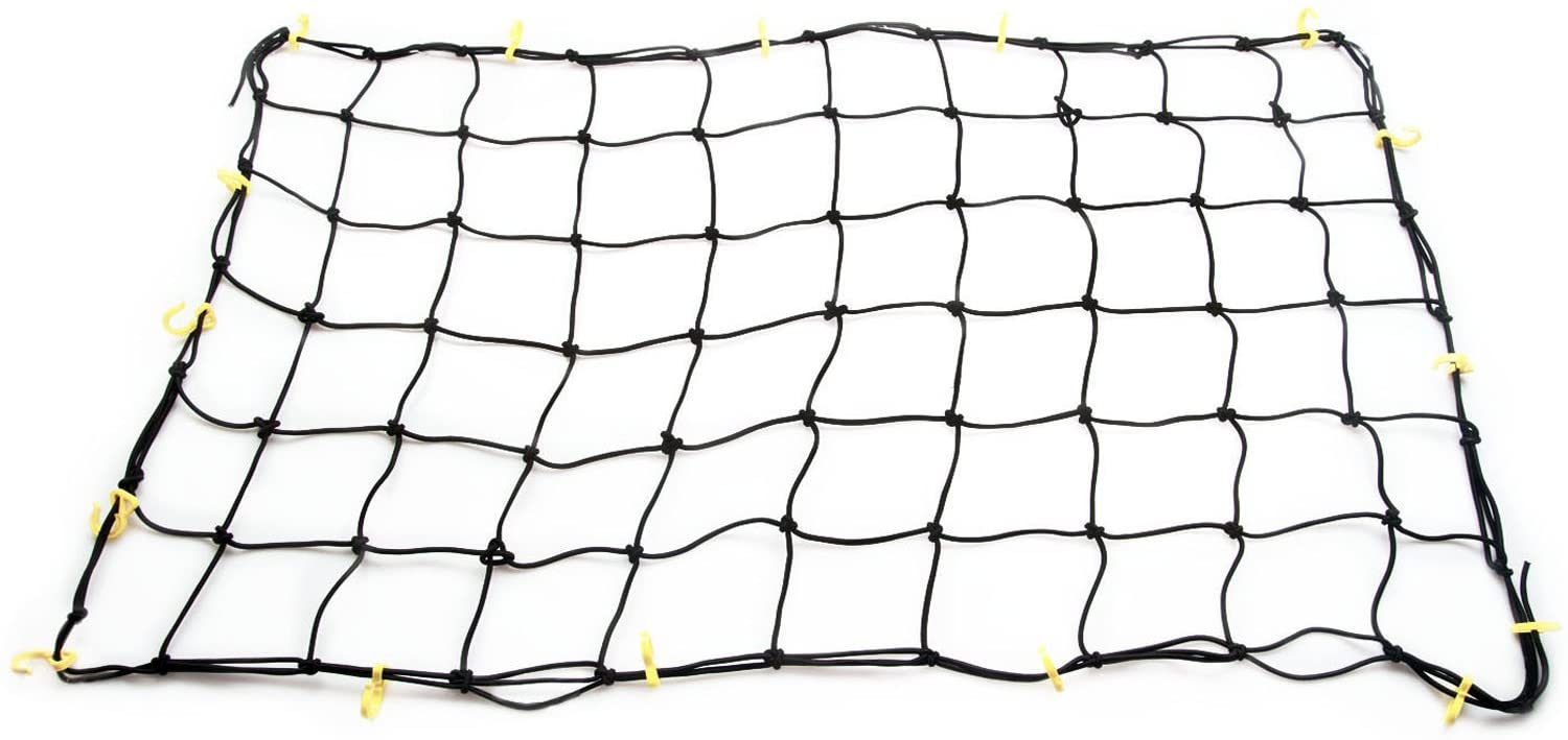 """Tooluxe 50970L Bungee Cargo Net 72 x 96 Extra Large with 28 Hooks, 72/"""" x 96/"""" 