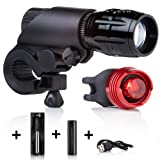 Rechargeable Bike Lights LED by Camden Gear Vivid XIII Bicycle Light