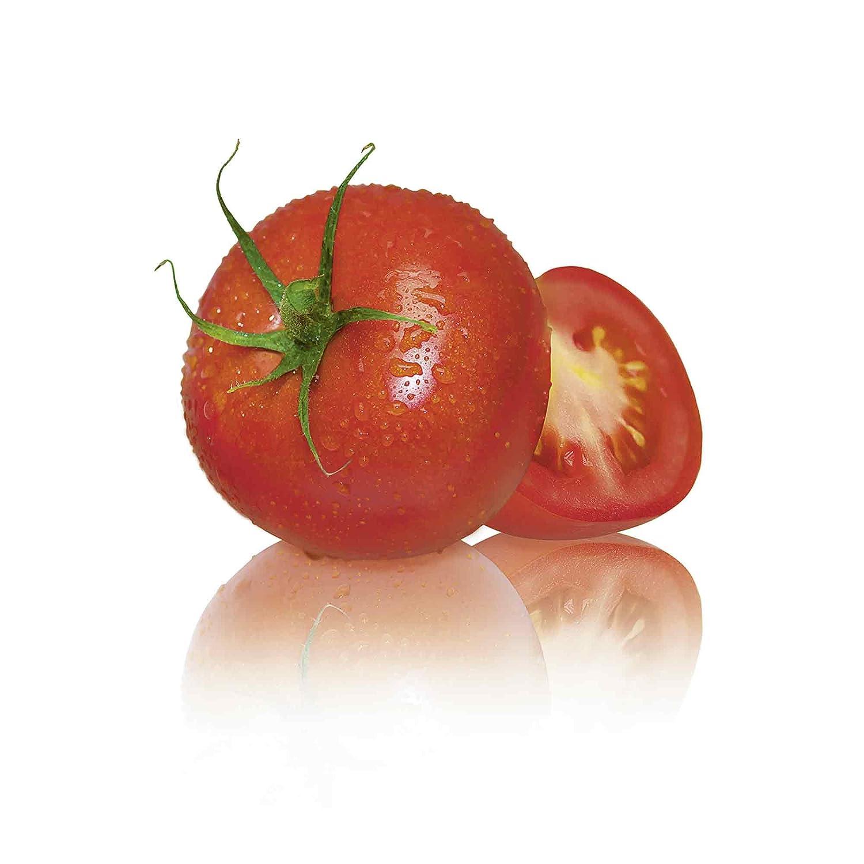 Artland Qualit/ätsbilder I Glasbilder Deko Glas Bilder 20 x 20 cm Ern/ährung Genuss Lebensmittel Gem/üse Foto Wei/ß A7DW Frische Tomaten