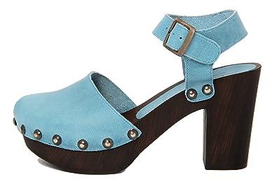MARRADINI Damen - Sandale - Glattleder - 108_247_Boston_OCRA