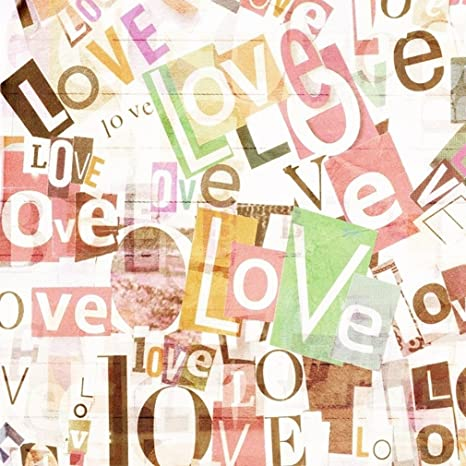 Amazon Com Computer Printed Love Letter Photography Backdrop