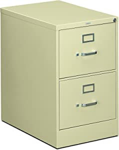 HON The Company P.L HON312CPL 310 Series Vertical File Cabinet Legal Width, 2 Drawers, Putty (H312C)