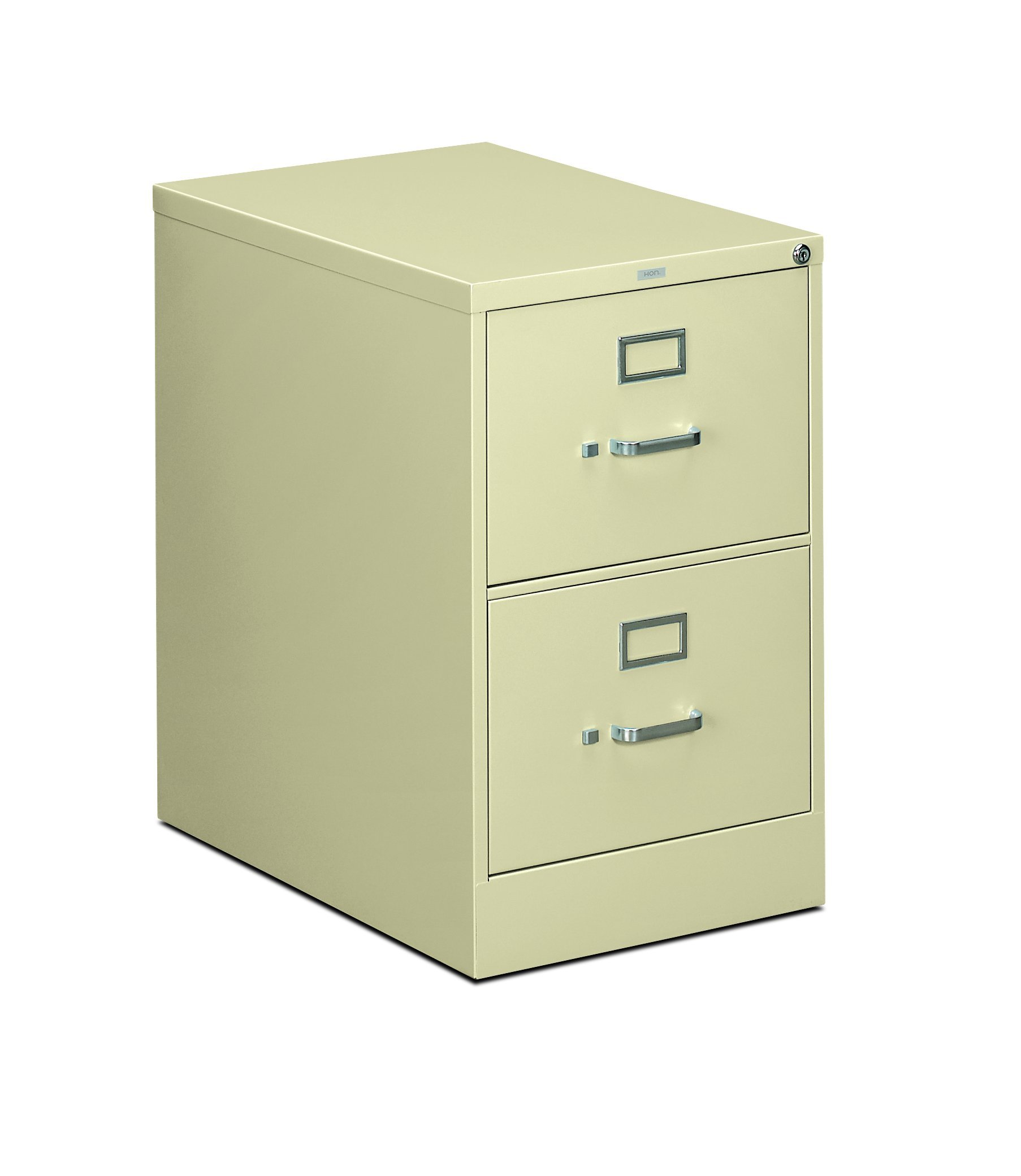 HON The Company P.L HON312CPL 310 Series Vertical File Cabinet Legal Width, 2 Drawers, Putty (H312C),