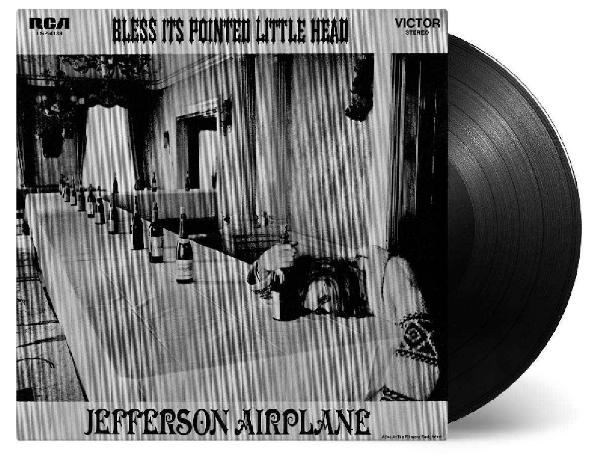 Vinilo : Jefferson Airplane - Bless It's Pointed Little Head (Holland - Import)