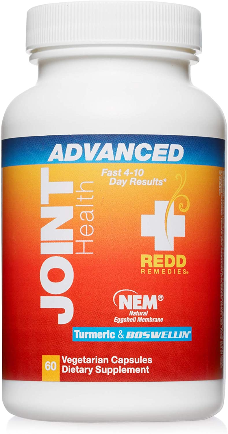 Redd Remedies, Joint Health Advanced, Fast-Acting Comfort with Collagen and Turmeric, 60 Capsules