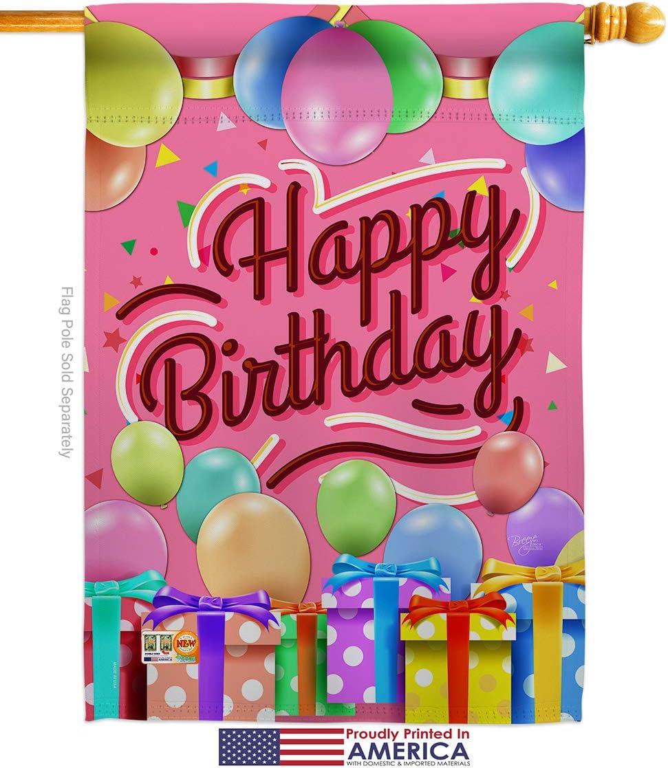 Amazon.com: Brisa decoración h115133 celebrar feliz ...