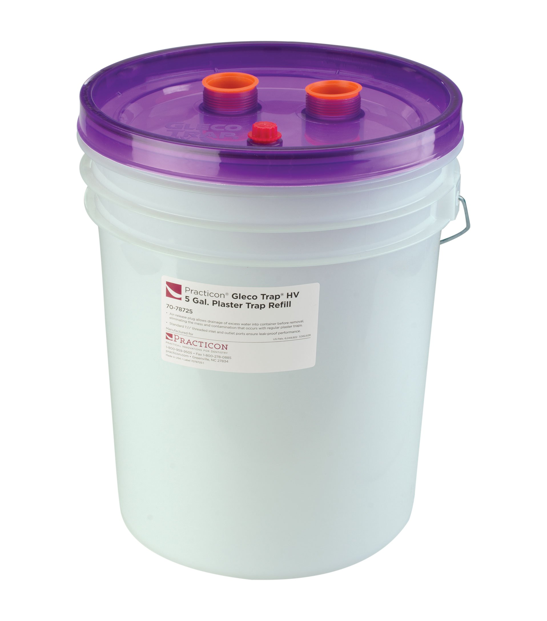 Practicon 7078725 Gleco Trap HV Refill, 5 gal by Practicon (Image #1)