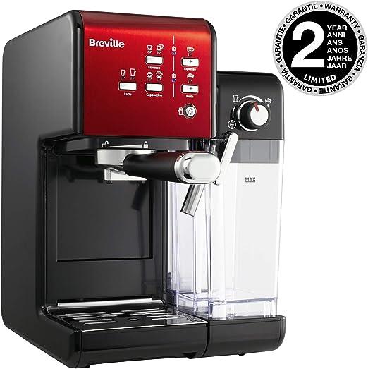 Breville - Máquina de café y espresso PrimaLatte II. 19 Bar blanco ...