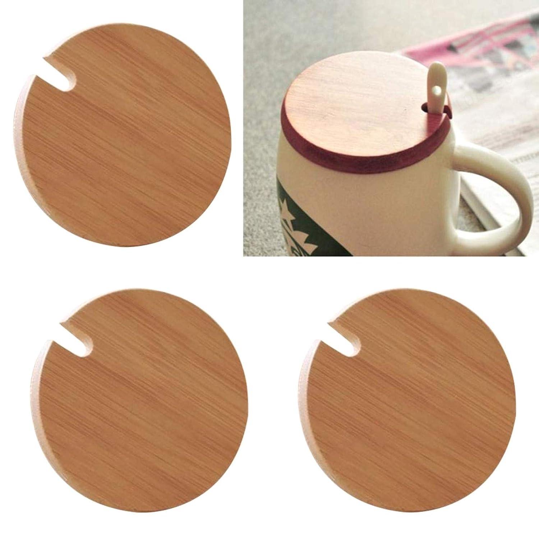 SALAKA 3 Piezas Tapas de Taza a Prueba de Polvo Tapas de Taza Tapas de Taza Caliente con Orificio de Cuchara
