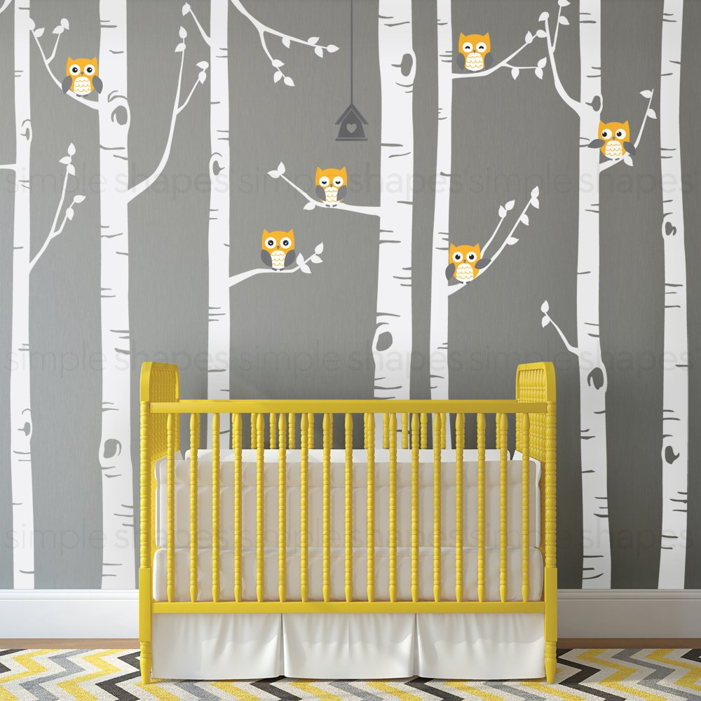 Great Birch Tree Wall Decor Images - The Wall Art Decorations ...