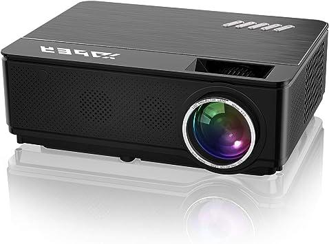 YABER Proyector Soporta Full HD 1080P 4500 Lúmenes Proyector Cine ...