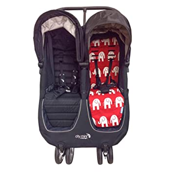 Amazon Com Tiny Lily Cotton Stroller Seat Liner For Baby Jogger