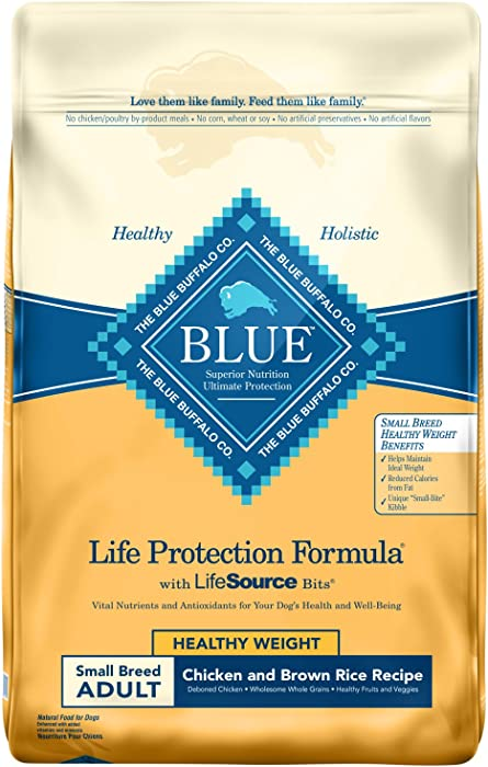 Top 10 Blue Healthy Weight Dog Food Senior