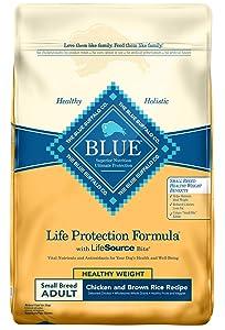 Blue Buffalo Life Protection Formula Healthy Weight Small Breed Dog Food