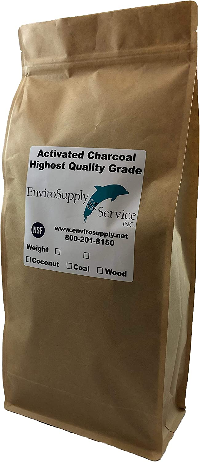Powdered Hardwood Carbon for Oil Extraction (Decolorization) - Resealable 3 lb. Bag