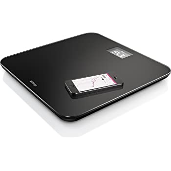 Withings Body Cardio Scale >> Amazon.com: Withings WiFi Body Scale, Black: Health & Personal Care