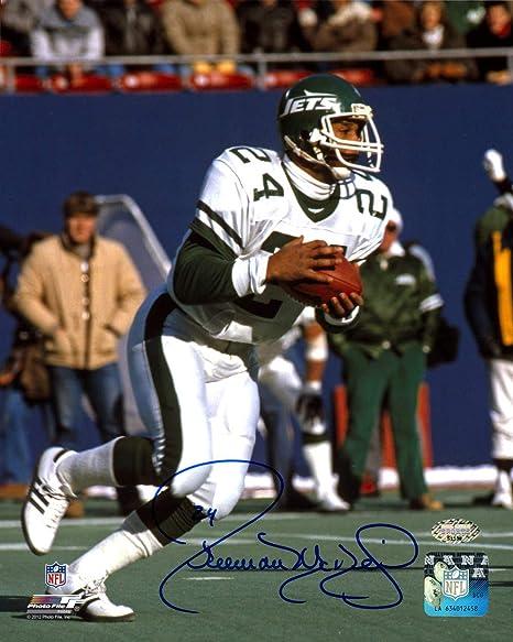cada129ea7b Freeman McNeil Autographed Signed 8x10 Photo New York Jets MCS Holo Stock  #147924