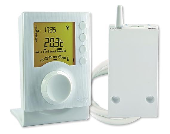 Delta Dore TYBOX 137 6053007 - Termostato programable con 2 niveles de consigna: Amazon.es: Bricolaje y herramientas