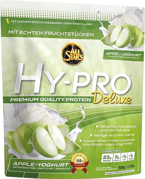 All Stars Hy-Pro Deluxe Apple Yoghurt - 500 gr