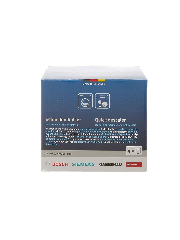 Neff Bosch 4, 00311507 Siemens 00311506 Gaggenau schnellentkalker 00311919