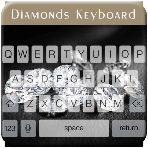 Diamonds Keyboard (Touch Keyboard Diamond)