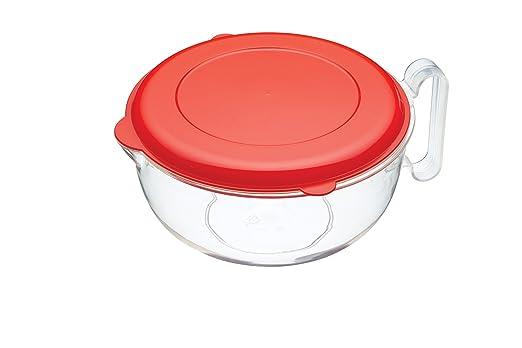 Kitchen Craft jarra medidora con tapa apto para microondas ...