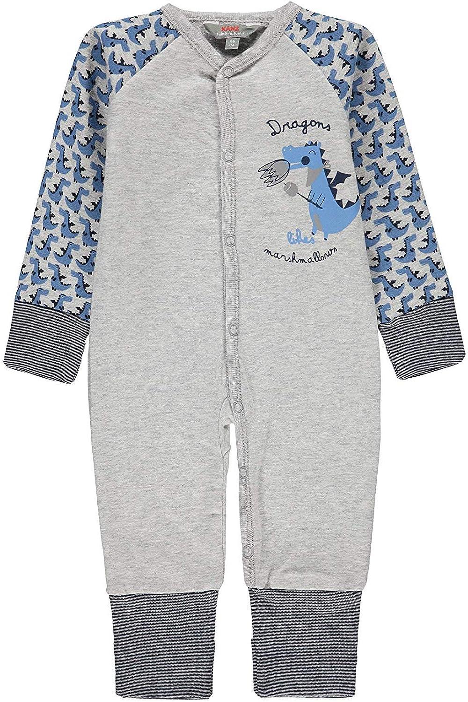 Kinder Kanz Schlafanzug mit Knopfleiste Jungen Baby