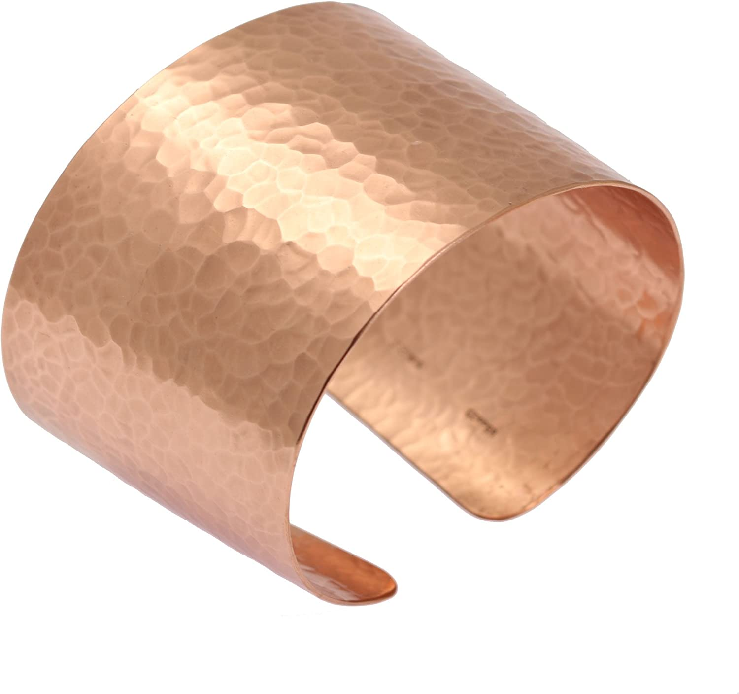 Wide Hammered Copper Cuff...