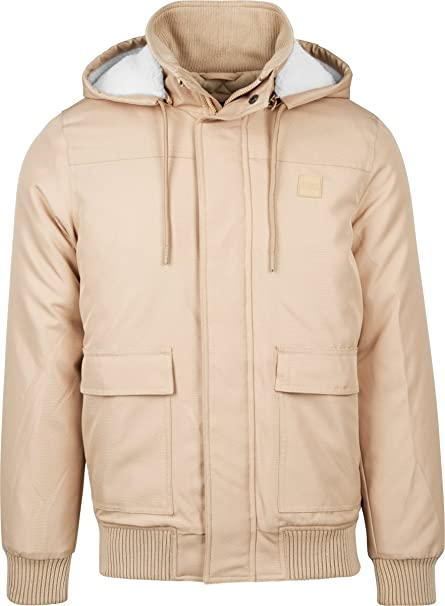 Urban Classics Heavy Hooded Jacket Chaqueta para Hombre