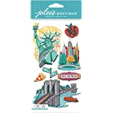 Jolees Boutique Dimensional Stickers, New York