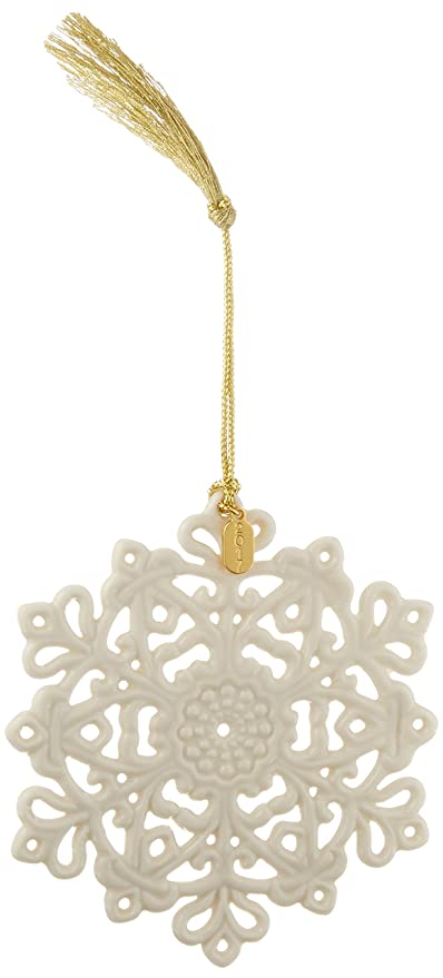 Amazon.com: Lenox 2017 Snow Fantasies Snowflake Ornament: Home & Kitchen