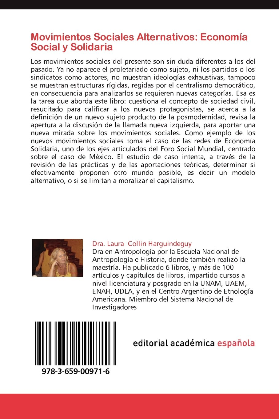 Movimientos Sociales Alternativos: Economia Social y Solidaria: Amazon.es: Laura Collin Harguindeguy: Libros