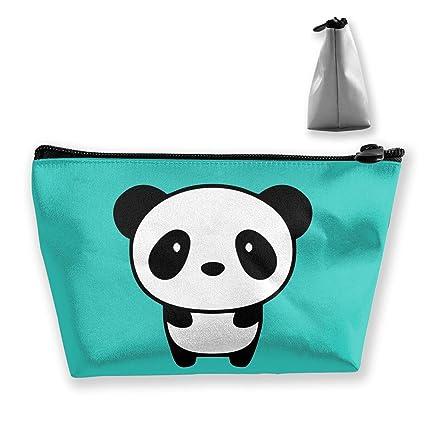 dbe8666ecd47 Amazon.com: customgogo Women's Panda Animal Travel Makeup Bags ...