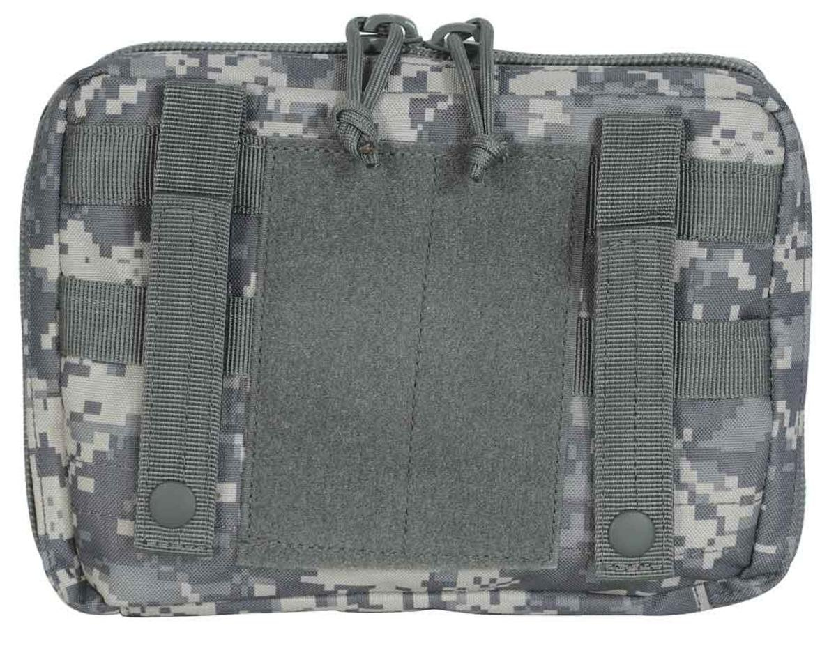 VooDoo Tactical 20-9324001000 Marksman Data Book Pouch, Black