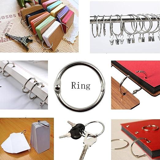 Farbigen Metall Buch Ring, Loose Leaf Binder Ringe Metall Buch Ringe ...