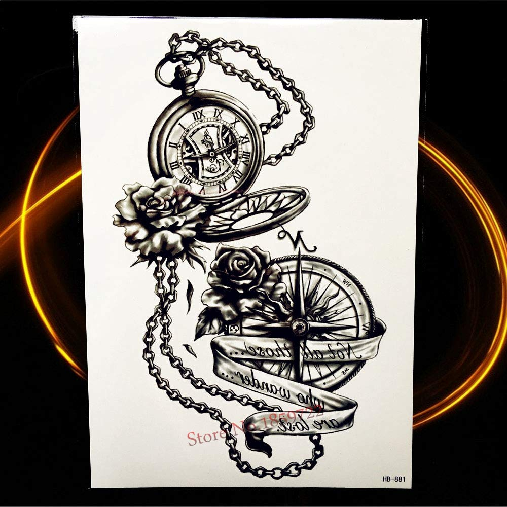 Yyoutop 3D Vivid Bola de dragón vívida e Tatuaje Hombres Body Art ...
