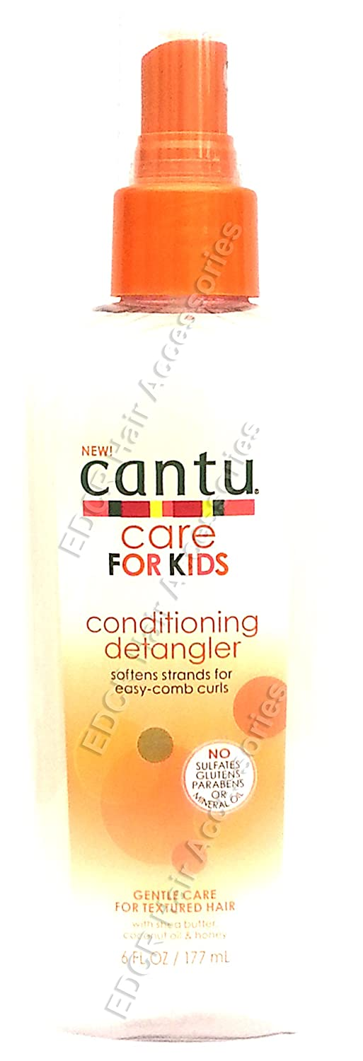 New Cantu Care For Kids Conditioning Detangler Gentle Care For Textured Hair 177 ml by Cantu USA