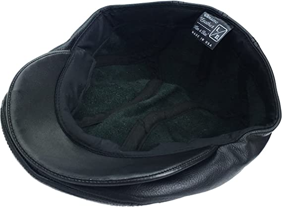 d4b8511b Gatsby Ivy Collection Classic Newsboy Cabbie Applejack Leather Hats Caps at  Amazon Men's Clothing store: