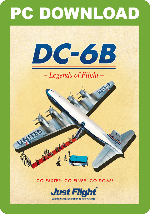- DC-6B - Legends of Flight [Download]