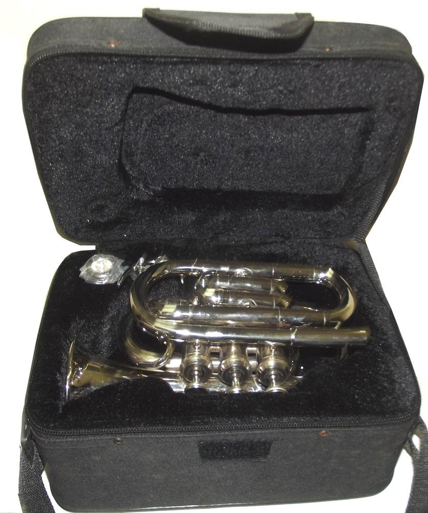 True Bb Zweiss Pocket Cornet, British Designed. A Real Cornet, Not a Pocket Trumpet! by Queen Brass
