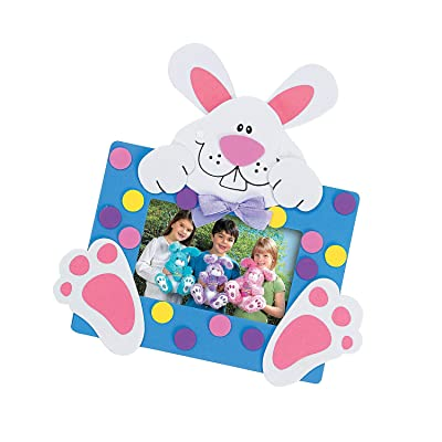 Bunny Picture Magnet Craft Kit - Crafts for Kids and Fun Home Activities: Toys & Games