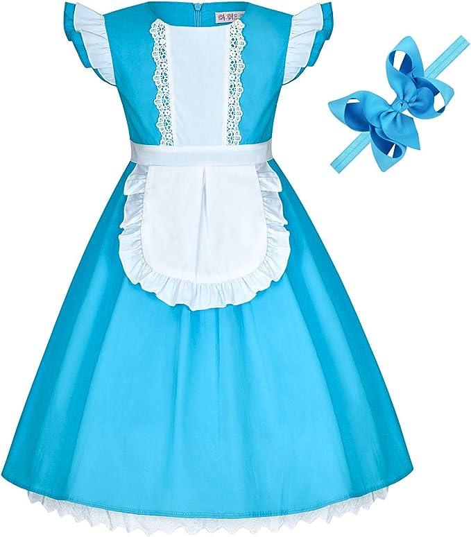 Amazon.com: Disfraz de princesa (Elsa, nieve, Belle, sirena ...