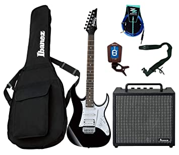 Guitar Starter Pack Ibanez Guitarra Eléctrica Entry Level/Combo 10 W/ accesorios