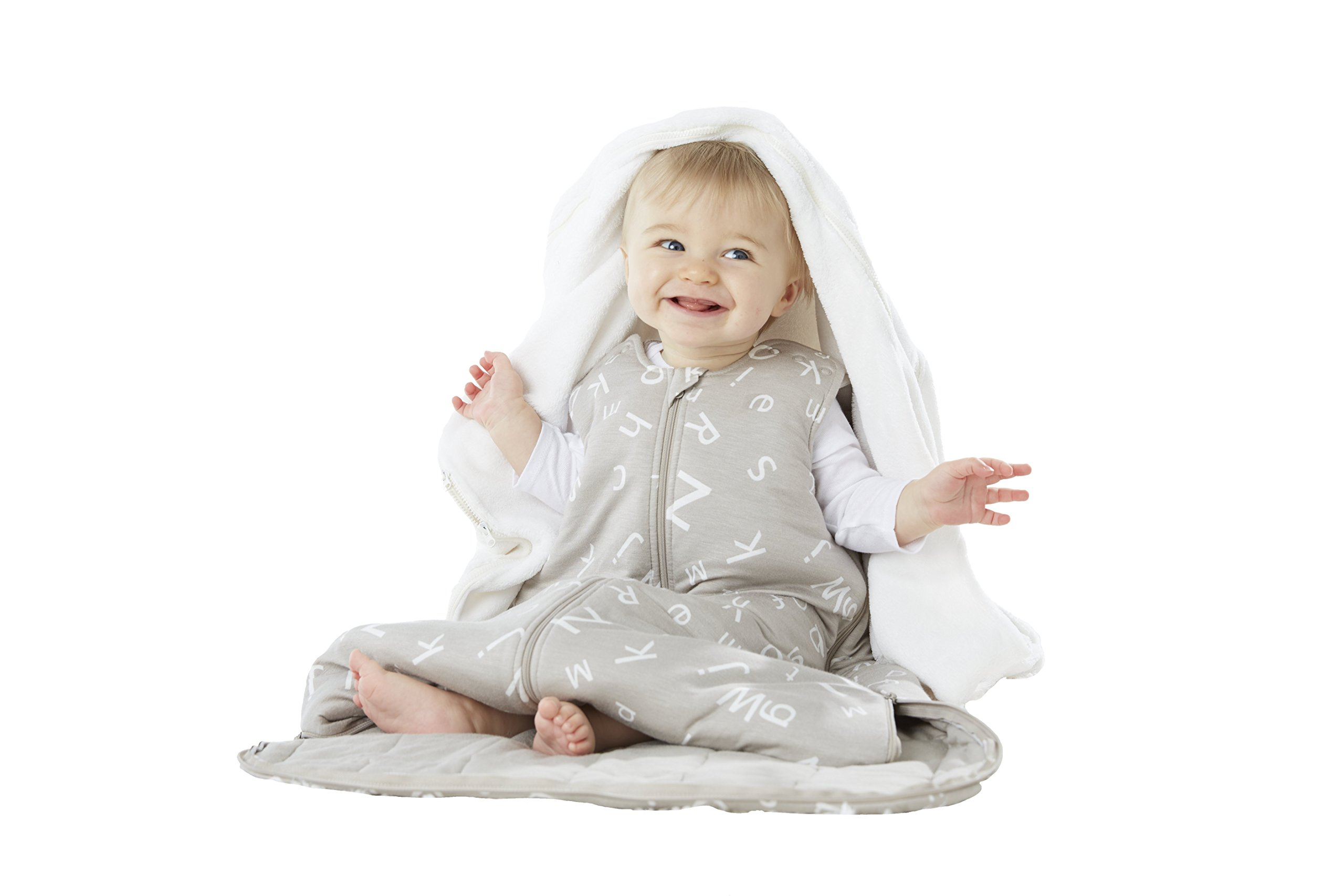 Gunapod Sleep Sack Luxury BambooRayon Unisex Wearable Blanket Baby Sleeping Bag with WONDERZiP
